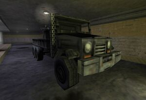 The Black Ops' truck