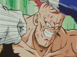 Vegeta vs Recoome! Kick and Elbow -Japanese Episode 64-