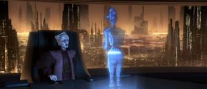 Chancellor Palpatine desk