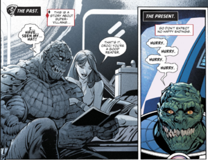 Killer croc save June Moone reading 2
