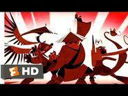 Kung Fu Panda (2008) - The Legendary Warrior Scene (1-10) - Movieclips