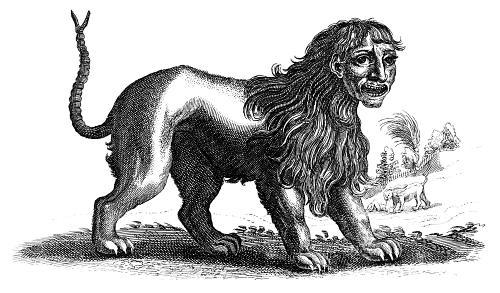 Manticores (mythology)