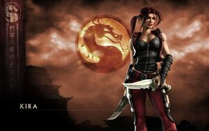 Mortal kombat deception kira girl dragon knifes 21204 3840x2400