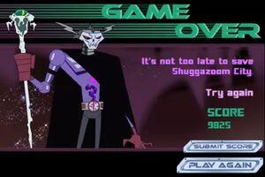 Skeleton King in 'Super Robot Monkey Team Hyper Force Go! Monkeys Mobilize' video game
