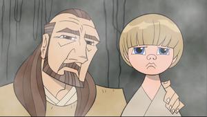 Anakin Skywalker Qui-Gon Jinn 2D