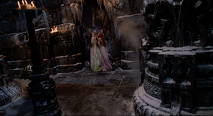 Dracula Brides wall