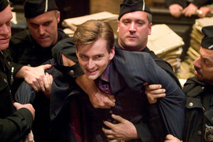 Barty Crouch Jr arrested