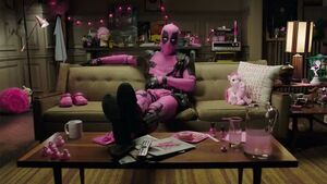Deadpool pink suit