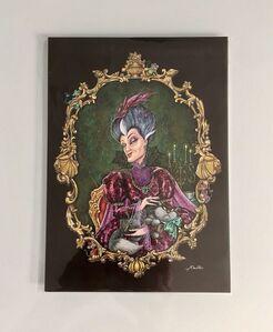Disney Villain Portraits Lady Tremaine
