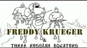 Freddy Krueger vs Three Russian Bogaturs (animation)