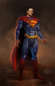 Injustice Superman Art