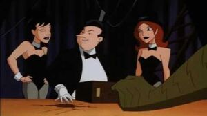 Making deals with The Penguin (The New Batman Adventures)