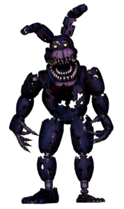Nightmare Bonnie FNaFVR