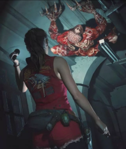 RE2 remake Claire updated demo2