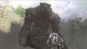 Shadow of the Colossus Valus Boss Fight - 1st Colossus (PS3 1080p)