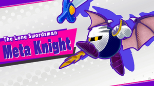 Alternate KSA Meta Knight Splash Screen