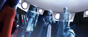 Chancellor Palpatine briefing