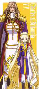 Code Geass - Charles and V.V.