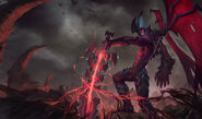 Aatrox Old Splash Art