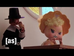 Bitch Pudding's The Crucible - Robot Chicken - Adult Swim
