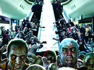 Dead Rising - Zombie Escalator wallpaper