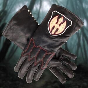 Hessian-leather-gloves
