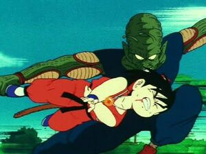 King Piccolo vs Goku! The Beatdown -Dragon Ball Episode 109-