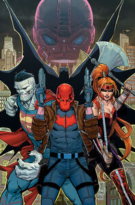 Red Hood and the Outlaws Vol 2 1 Textless