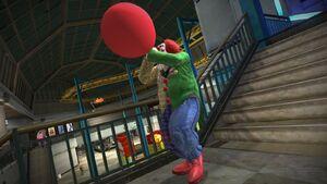 Adam the clown balloon