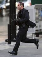 Brock running