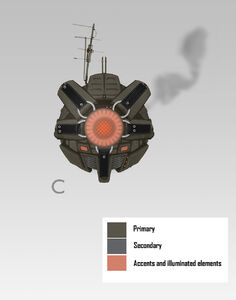 C.I.D. Concept Art - C - brown with bright eye
