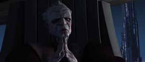 Chancellor Palpatine theorizes