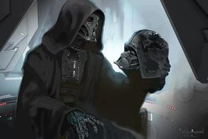 Force Awakens Kylo concept art