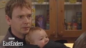 Ian Beale takes back baby Bobby - EastEnders - BBC