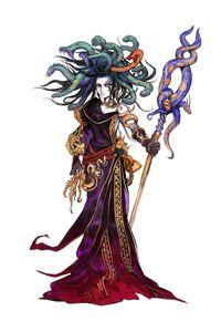Medusa the Goddess of Darkness