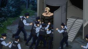 Muscular arrested