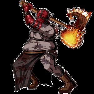 Red Executioner Majini (Clan Master)