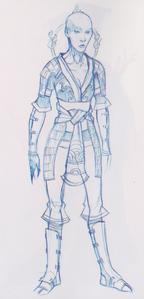 Female Lotus Assassin concept