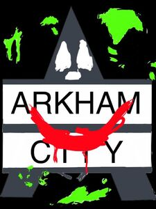 Joker arkham city logo by joz the super saiyan-d56txqn