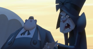 Krum and Son angry
