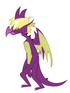 Purple teen dragon by thorbhaal-d4yvhng