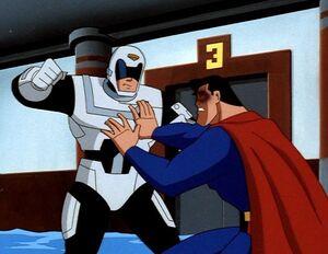 Sgt. Corey Mills vs. Superman