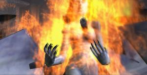 Aleera stabbed Van Helsing video game