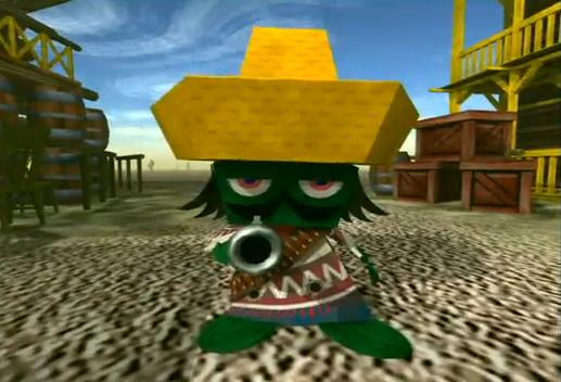 Cactus Gunman