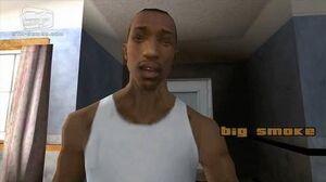 GTA San Andreas - Intro & Mission 1 - Big Smoke, Sweet & Kendl (HD)