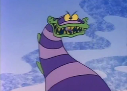 Sandworm in Beetlejuice - The Animated Series