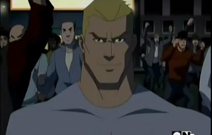 Sportsmaster Maskless (Young Justice)