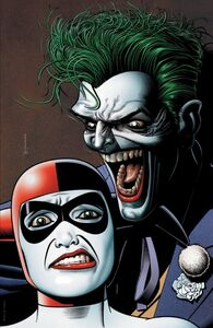 The Joker 80th Anniversary 100-Page Super Spectacular Vol 1 1 Joker Harley Quinn Textless