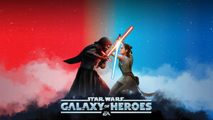Video-game-star-wars-galaxy-of-heroes-kylo-ren-rey-star-wars-wallpaper