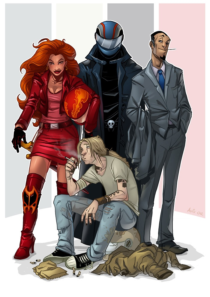 Four Horsemen of the Apocalypse (Good Omens)